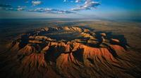 Fixed-Wing Scenic Flight from Ayers Rock Including Gosses Bluff
